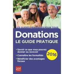 Donations - Le guide pratique - 2016