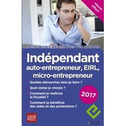 Indépendant, auto-entrepreneur, EIRL - le guide pratique - 2017 - Ebook