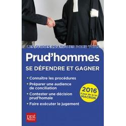 Prud'hommes - Se défendre et gagner - Édition 2016