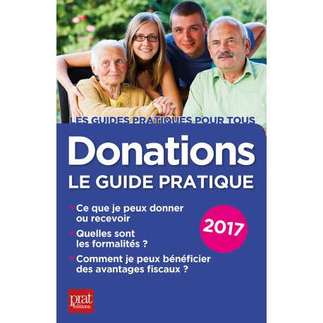 Donations - Le guide pratique - 2017