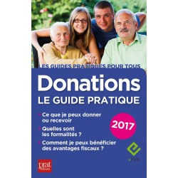 Donations - Le guide pratique - 2017 - Ebook