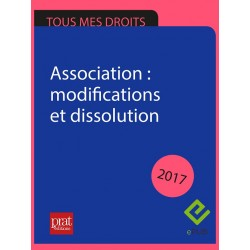 Association : modifications et dissolution - Epub