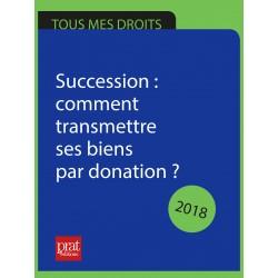 Succession : comment transmettre ses biens par donation ? - Ebook