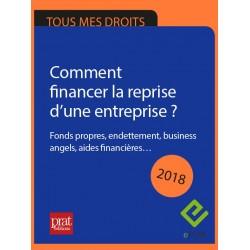 Comment financer la reprise d'une entreprise ? Fonds propres, endettement, business angels, aides financières… - Epub 2018