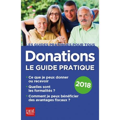 Donations - Le guide pratique - 2018