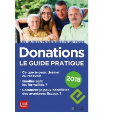 Donations - Le guide pratique - 2018 - Ebook