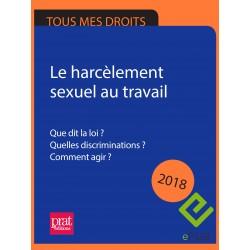 Le harcèlement sexuel au travail 2018 - EPUB