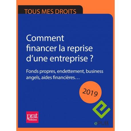 Comment financer la reprise d'une entreprise ? Fonds propres, endettement, business angels, aides financières… 2019 - EPUB