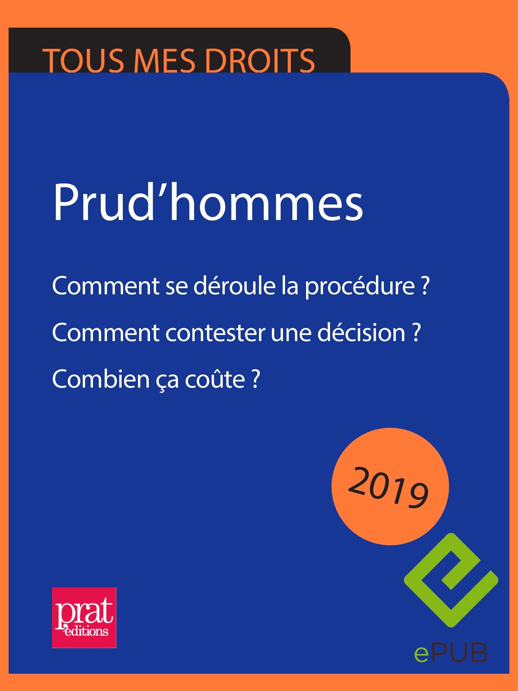 Prud Hommes Comment Se Deroule La Procedure 2019 Epub