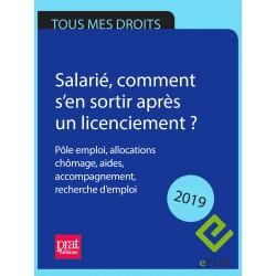 Salarié, comment s'en sortir après un licenciement ? Pôle emploi, allocations chômage, aides, accompagnement... 2019 - EPUB