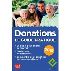 Donations - Le guide pratique 2019 - EPUB