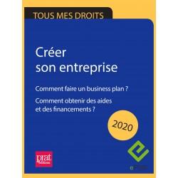 Créer son entreprise : comment faire un business plan ? Comment obtenir des aides et des financements ? 2020 - EPUB