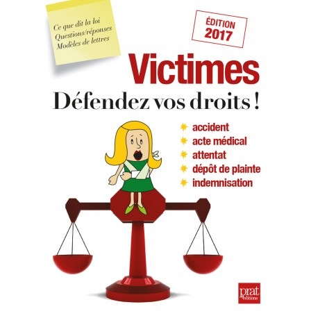 Victimes Défendez vos droits