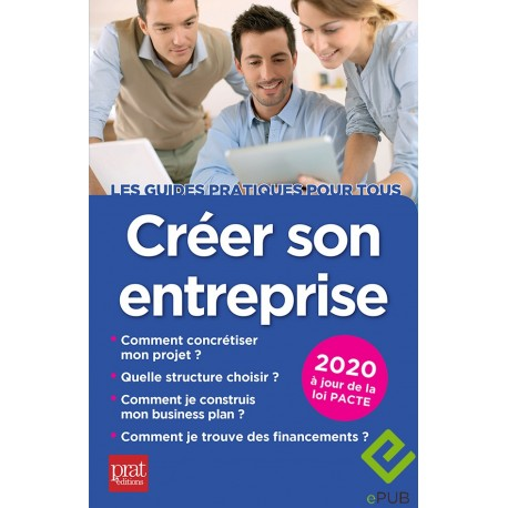 Créer son entreprise 2020 - EPUB
