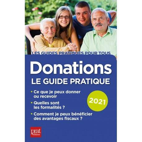 Donations - Le guide pratique 2021